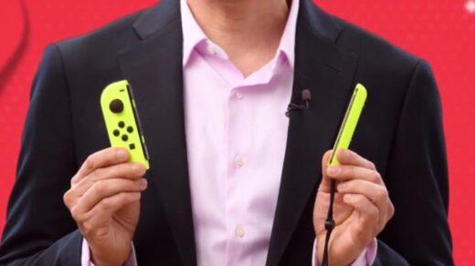 Joycon Jaune Neon Switch