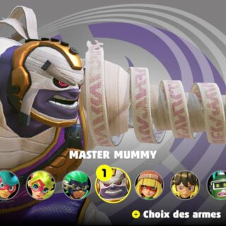 Master Mummy (ARMS)