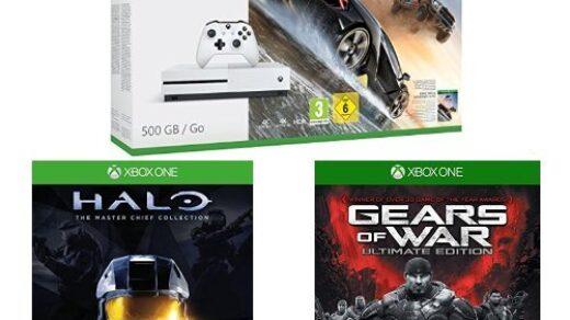 La Xbox One + 3 jeux exclusifs Microsoft à 270€ !
