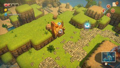 Parfois, je trouve que le jeu a des petits airs de Minecraft.