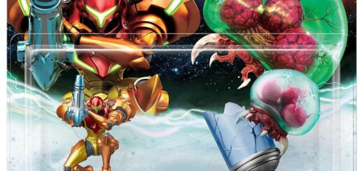 Packaging des Amiibo Samus & Metroid !