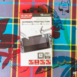 Une protection d'écran Subsonic pour Nintendo Switch en verre et pas cher !