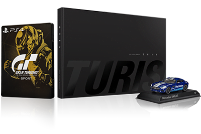 L'édition collector de Gran Turismo Sport