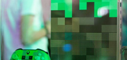 Cette Xbox One édition collector Minecraft est de toute beauté !