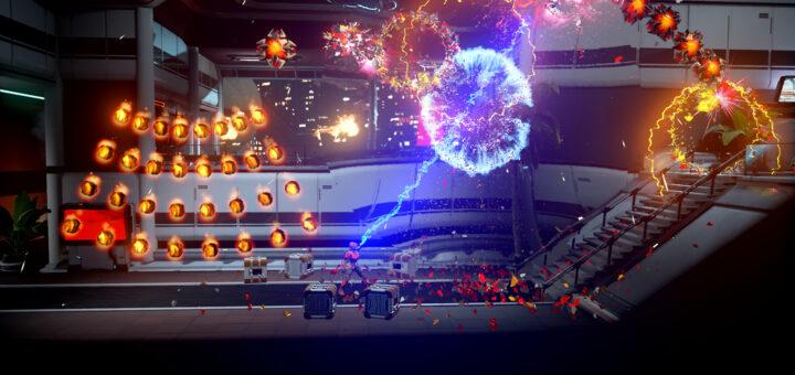 Matterfall est avant tout un véritable Shoot'em'up 2D :) !