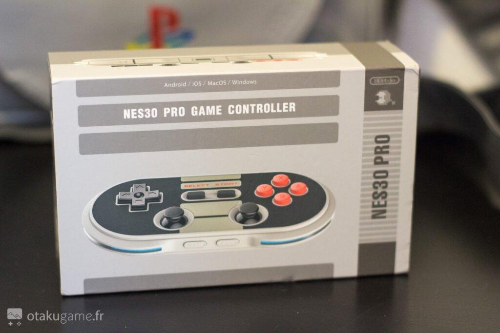 Manette 8bitdo NES30 PRo