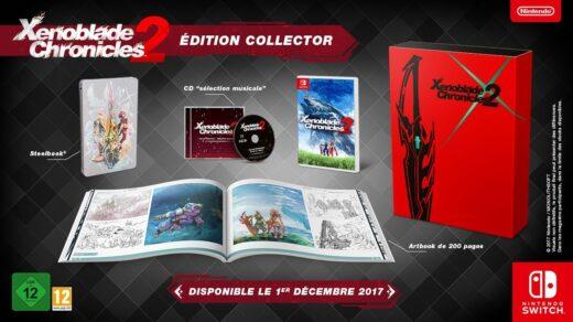 Xenoblade Chronicles 2 en édition collector sur Nintendo Switch !