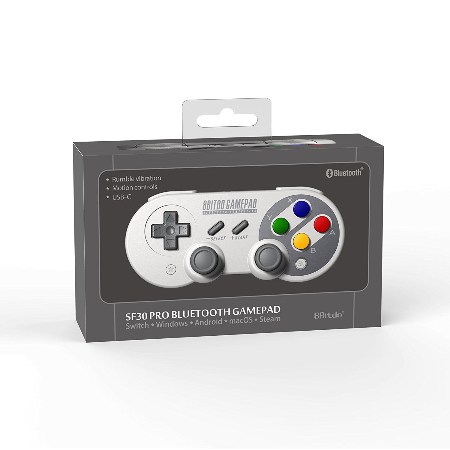 pr commande la manette snes pour switch 8bitdo sfc30 pro chez amazon. Black Bedroom Furniture Sets. Home Design Ideas