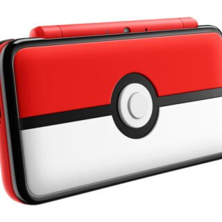La new 2DS XL en version Pokéball