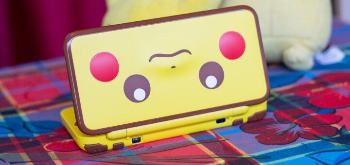 new 2DS XL édition limitée Pikachu