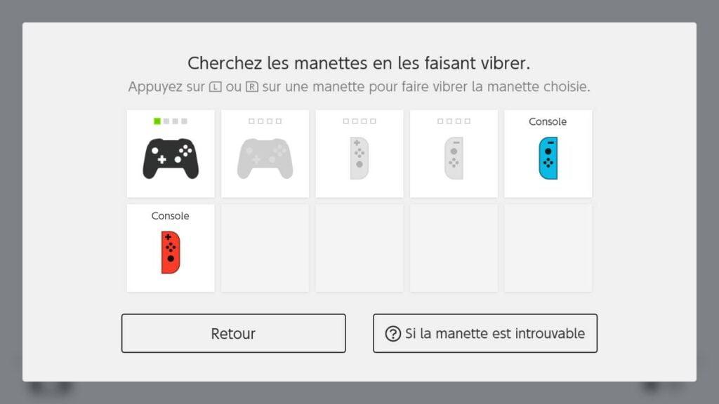 La Switch garde en mémoire les manettes que vous avez connecté à celle-ci ;) !