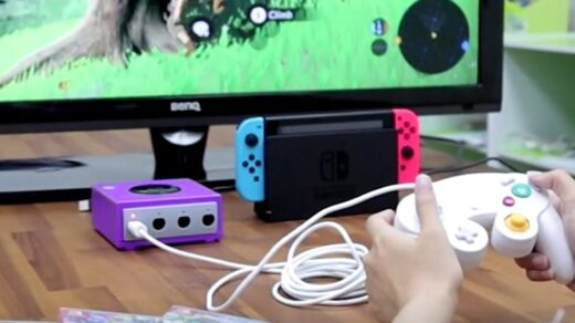 Adaptateur Gamecube Switch