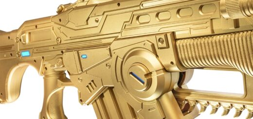 Le Lanzor Gear 4 Or Taille réelle semble plutôt bien réalisé.