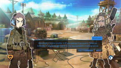 Le scénario est principalement dévoilé à base de dialogues.