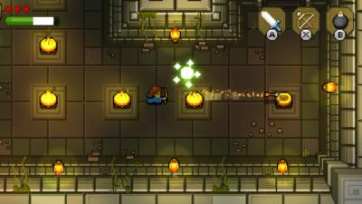 Les donjons vous rappelleront forcément ceux de Zelda.