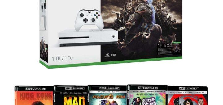 Promotion : La Xbox One S est en mode cinéphile !