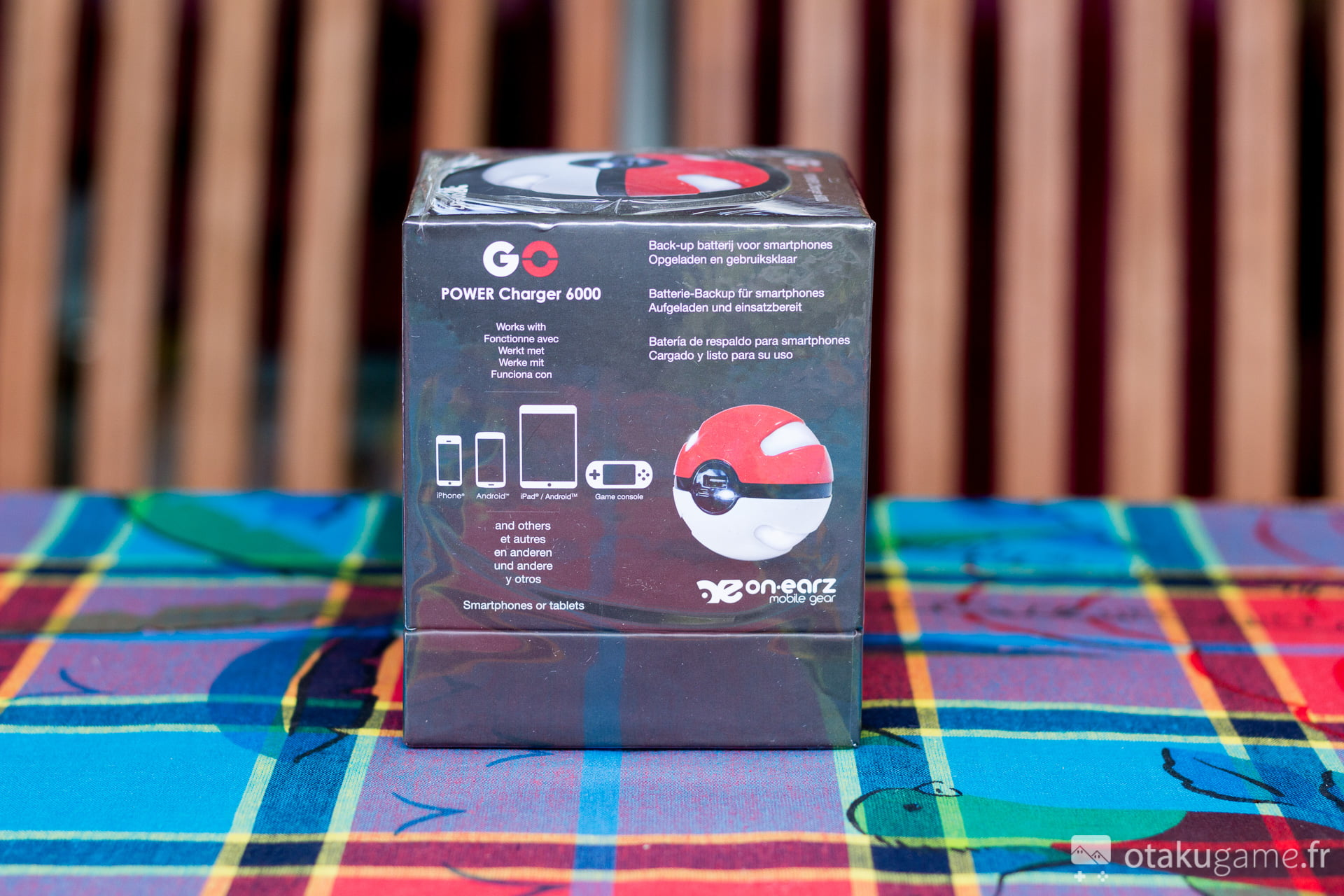how to tell if pokeball power bank is full