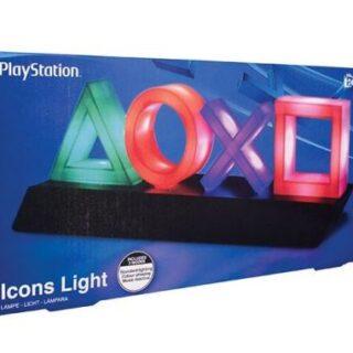 Lampe aux couleur de la Playstation