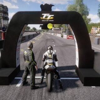 TT Man of Isle sur PS4