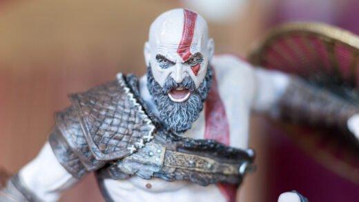 La figurine du Collector de God of War sur PS4 est juste sublime !