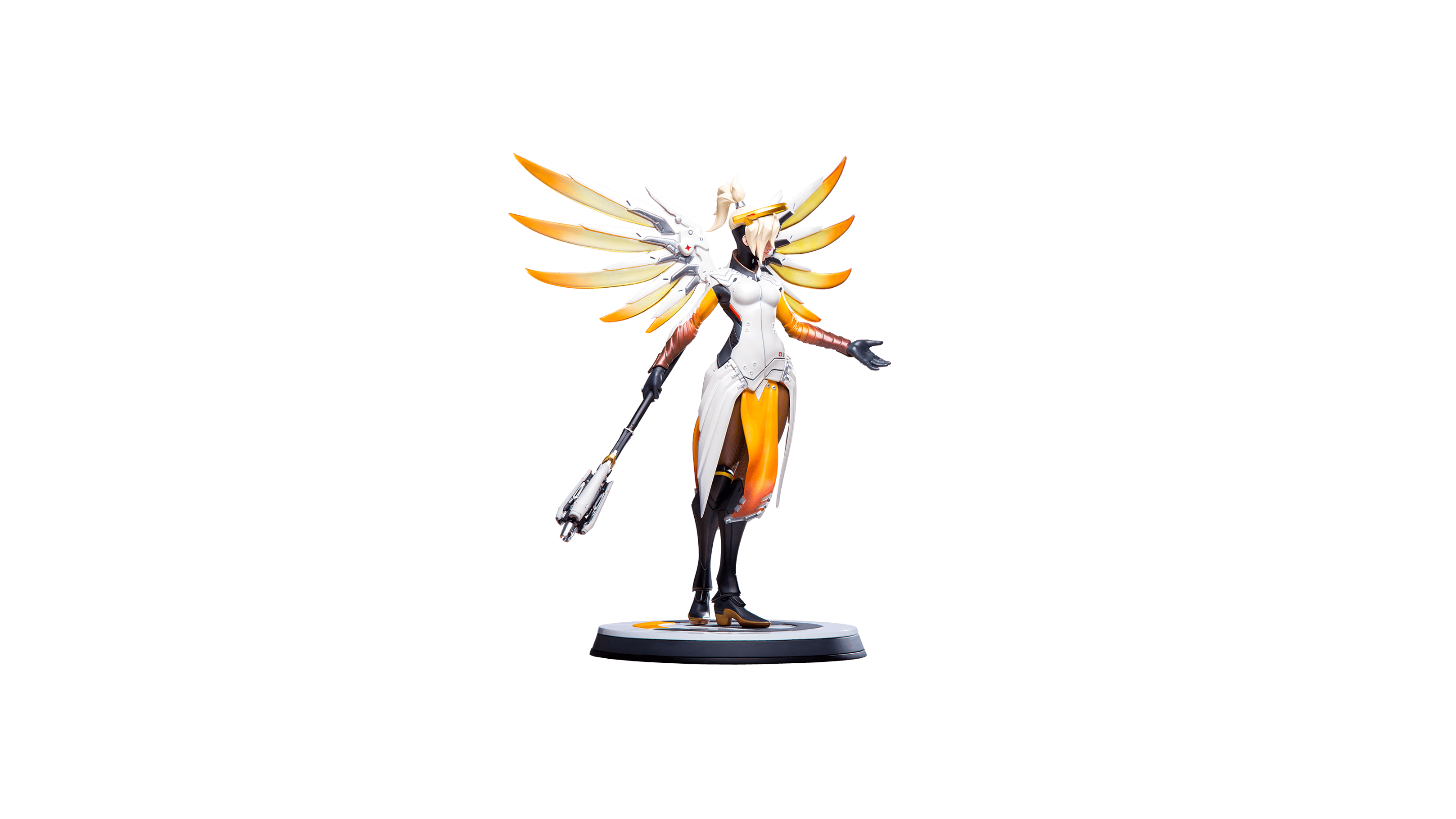 La figurine officielle de Ange (Overwatch)
