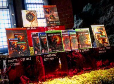 Les différentes éditions de Shadow of the Tomb Raider