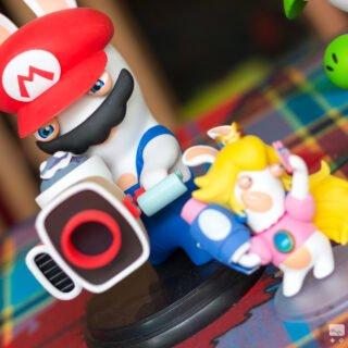 "La figurine ""Lapin Luigi"" de Mario + Lapins Crétins Kingdom Battle"