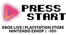 Press-Start.com, achetez vos jeux console dématérialisé moins chers !