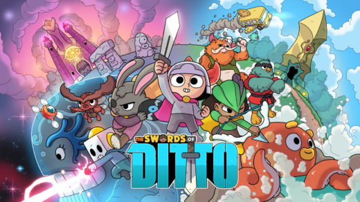 Le charadesign de The Swords of Ditto est juste à tomber !