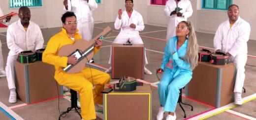 Ariana Grande sur le Nintendo Labo