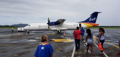 La compagnie aérienne LIAT relie les îles de Caraïbes via les airs !