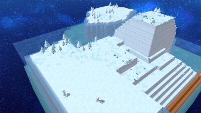 Dans Happy Birthdays sur Nintendo Switch, on peut commencer avec un monde gelé !