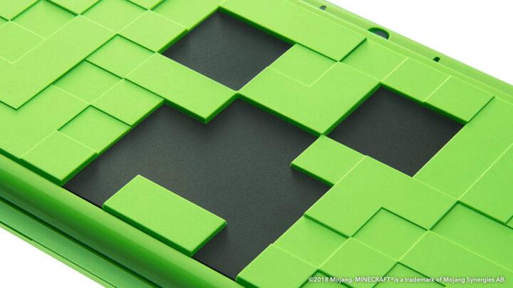 2DS XL Minecraft collector Creeper