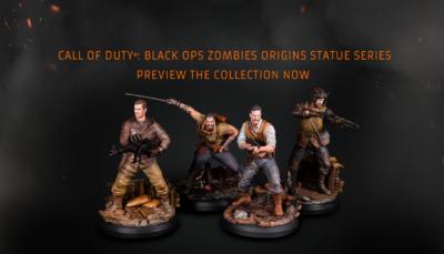 Figurines du mode Zombie de Call of Duty Black Ops 4
