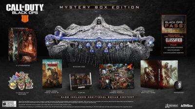 L'édition collector de Call of Duty Black Ops 4