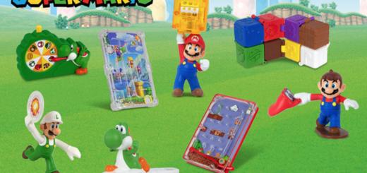 Les jouets Mario des Happy Meal de 2018 chez McDonald's USA !