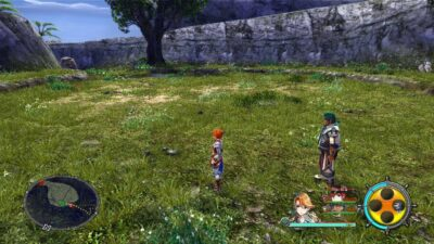 Les premiers paysages que l'on découvre de Seiren sont plutôt sympas.