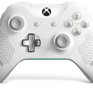 Cette Manette Xbox Sport blanche est bien classe ^^ !