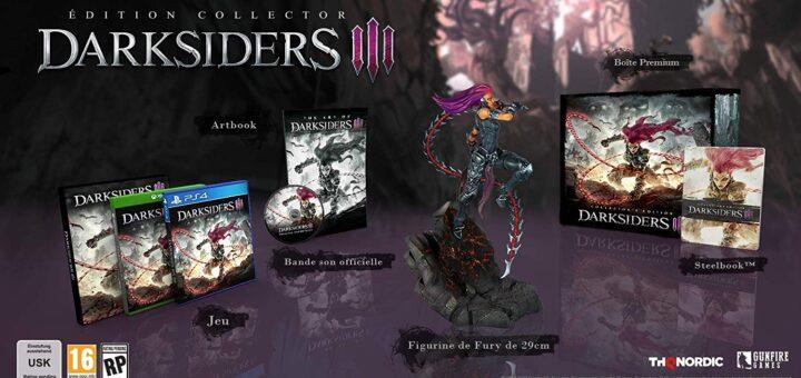 L'édition collector de Darksiders III est plutôt bien jouée :) !