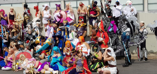 Des centaines de cosplayers League of Legends regroupés !