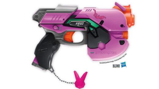 Le pistolet de D.Va ! OMG Je le veux !