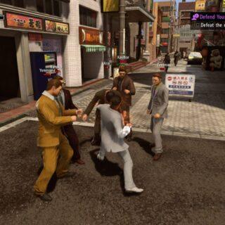 Des combats dans Yakuza Kiwami 2 ? C'est une obligation !