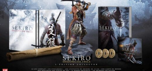 L'édition collector de Sekiro : Shadows Die Twice !
