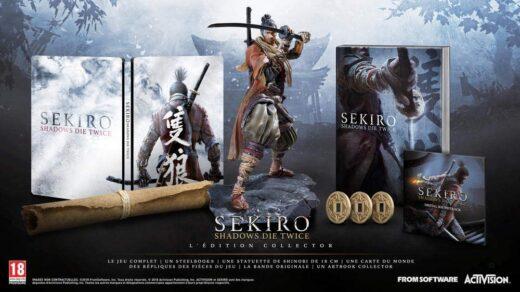 L'édition collector de Sekiro : Shadows Die Twice !