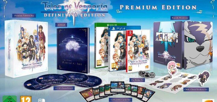 Le Collector de Tales of Vesperia Definitive Edition !