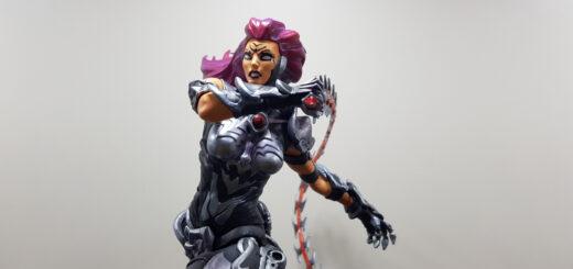 La figurine de Fury dans Darksiders III édition collector
