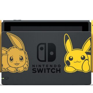 Console collector Nintendo Switch Pikachu & Evoli