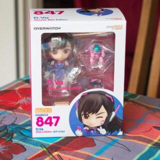 La boîte de la Nendoroid D.Va... On a directement envie de l'ouvrir !