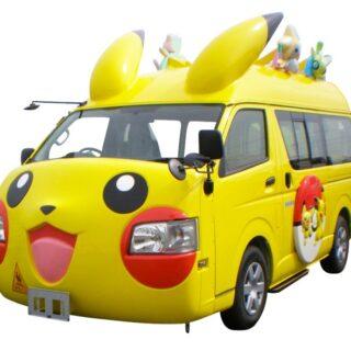 Mini Van Pikachu