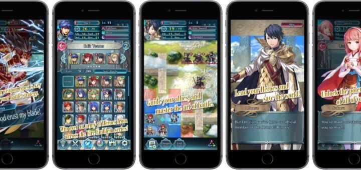Malgré ses qualités, j'ai vraiment du mal avec Fire Emblem Heroes sur mon Galaxy S8+...